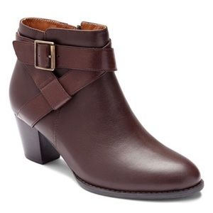 Vionic Trinity Leather Ankle boots Booties
